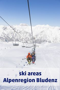The Alpenregion - Brandnertal, Klostertal, Alpenstadt Bludenz & Großes Walsertal - offers winter vacation for every taste Snowboard, Winter Holidays, Car Ins, Austria, Mount Everest, Skiing, Vacation, Mountains, Travel