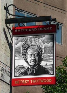 Betsey Trotwood Pub Sign | Flickr - Photo Sharing!