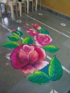 55 best Diwali Rangoli photos by Rangoli Designs Latest, Rangoli Border Designs, Small Rangoli Design, Rangoli Patterns, Colorful Rangoli Designs, Rangoli Ideas, Rangoli Designs Images, Beautiful Rangoli Designs, Diwali Rangoli Photos