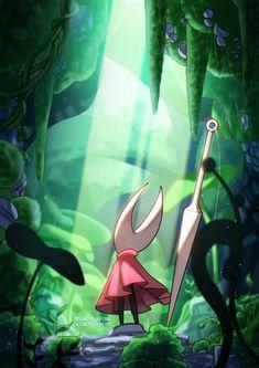 Character Art, Character Design, Team Cherry, Hollow Night, Hollow Art, Dark Drawings, Knight Art, Environment Concept Art, Video Game Art