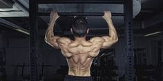 Back muscles, back workout, pullup