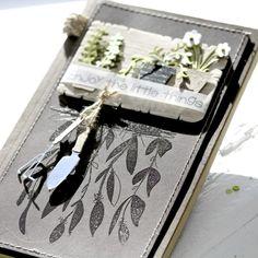 Enjoy the little things! Enjoy The Little Things, Doodle Art Journals, Scrapbook Paper Crafts, Scrapbooking, Hanging Plants, Diy Cards, Stencils, Card Making, Blog