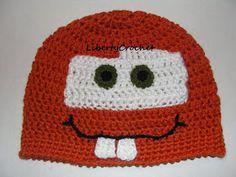 libertycrochet: Tow Mater Hat