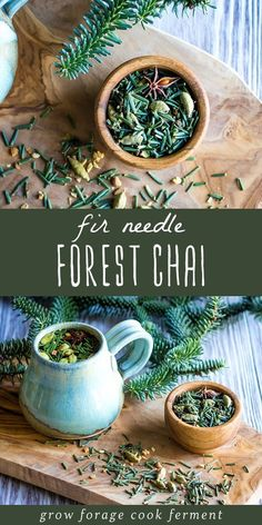 Fir Needle Forest Chai for Respiratory Wellness tea benefits tea blends tea garden tea photography tea recipes Natural Home Remedies, Herbal Remedies, Health Remedies, Matcha Tee, Wild Edibles, Tea Blends, Medicinal Plants, Tea Recipes, Snack Recipes