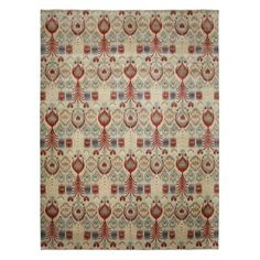 "Ikat Collection Oriental Rug, 9'2"" x 12'3"" 