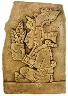 Yum Kaaz, the Maya god of corn Más Mayan Tattoos, Inca Tattoo, Indian Tattoos, Maya Civilization, Aztec Culture, Inka, Aztec Art, Mexican Art, Ancient Civilizations