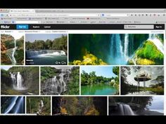 ▶ Finding Creative Commons Licensed Pictures on Flickr - YouTube