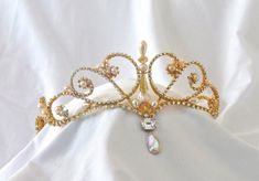 Rhinestone Tiara Custom Made to Order by CarynWellsDesigns on Etsy