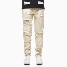 Fancy - Frayed Canvas Pants by Off White c/o Virgil Abloh Off White Pants, Khaki Pants, Men's Pants, White C, Virgil Abloh, Tee Shirts, Tees, Kanye West, Nice Dresses