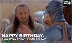 You WILL Enjoy Your Birthday - Star Wars eCards | StarWars.com