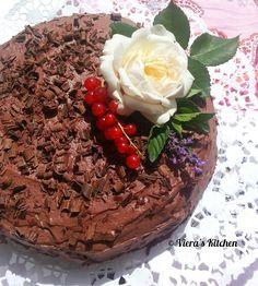 Viera´s Kitchen: Festliche Schoko-Nuss-Torte