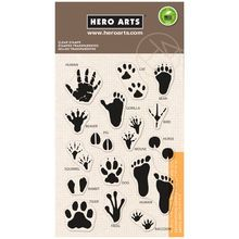 Hero Arts® Clear Stamps, Animal Prints