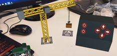 Create a Crane Training App in AR – Part 1 – VR Game Development Target Image, Ar Parts, Sub Folder, Vr Games, Crane, Training, Concept, App, Playstation