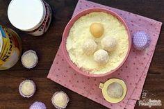 A melhor combinação de sabores em forma de brigadeiro: Leite Ninho com Nutella!!!