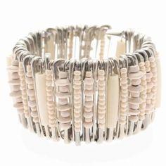 DIY safety pin bracelets