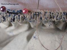 Kalasiris P.B. Costura: Cintura falda baturra
