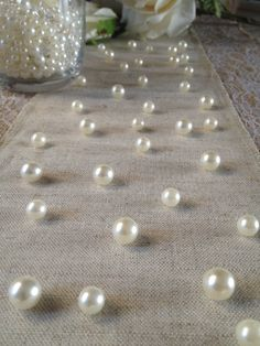 Vintage Table Pearl Ters Ivory Pearls For Wedding Parties Special Events Decor Confetti