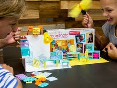 Roominate - toy for girls that lets them design and build a house with working lighting, etc.