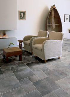 Interesting floor tile.
