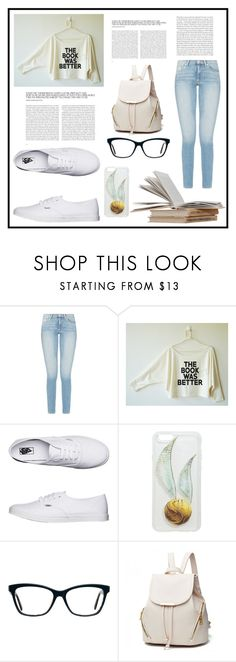 """School Days"" by bindisydney ❤ liked on Polyvore featuring Vans, Hot Topic and school"