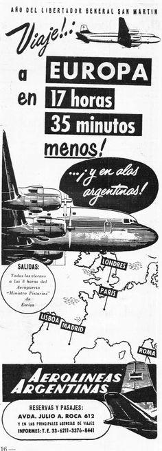 Aerolíneas Argentinas, cuando no era Aerolíneas Argentinas | Gaceta Aeronautica