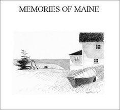 """Gary Akers   """"Memories Of Maine"""" Book"""