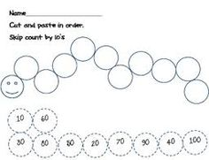 Image result for counting by 10's worksheet