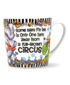 Take a look at this 'Circus' Gift Mug today!
