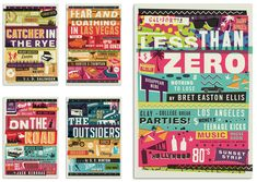 FFFFOUND! | Less Than Zero / Classic Books – Ilovedust – Illustrators & Artists Agents – Début Art