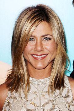Jennifer Aniston's highlighted hair