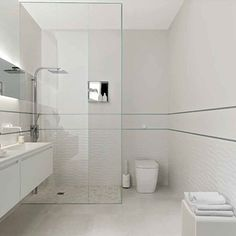 7 Apartment Design Ideas With Chic Bathroom And White Interior Apartment Decorating So, you want to get a bath and living room decor in your new apartment, but you don't know where to start. For the most part, apartment design is real. Bathroom Decor Pictures, Diy Bathroom Decor, White Bathroom, Small Bathroom, Modern Bathroom Design, Bathroom Interior Design, Minimalist Toilets, Tile Stores, Tiles Texture