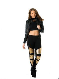 Minkpink Struck Oil Leggings $54 #fashion #womensclothing