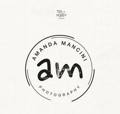 Personalised logo for Photographers by TeaAndHoneyStudio on Etsy