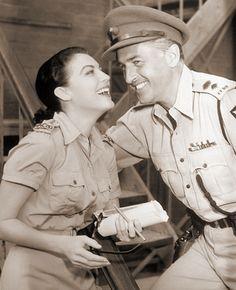 """Ava Gardner, Stewart Granger in """"Bhowani Junction"""" (1956). Director: George Cukor."""