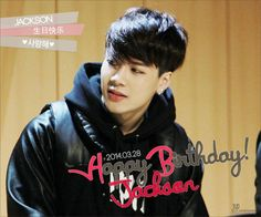 JYP Nation and fans wish GOT7's Jackson a happy birthday | http://www.allkpop.com/article/2014/03/jyp-nation-and-fans-wish-got7s-jackson-a-happy-birthday