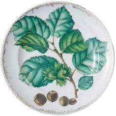 Mottahedeh Nut Leaf Dessert Plates | Gracious Style