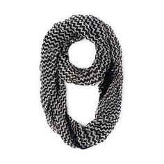 I love the Steve Madden Step Up Infinity Scarf from LittleBlackBag