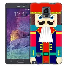 Samsung Galaxy Note 4 Happy Nutcracker with Red Hat Trans Case