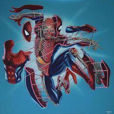 "2,997 Likes, 9 Comments - NoMoreMutants (@nomoremutants) on Instagram: ""Anatomy of a Spider By Nychos Download images at nomoremutants-com.tumblr.com Key Film Dates::…"""