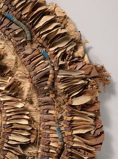 Floral collar from Tutankhamun's Embalming Cache Ancient Egyptian Costume, Ancient Egyptian Jewelry, Colar Floral, Kemet Egypt, Egyptian Fashion, Natural Weave, Valley Of The Kings, Ancient Aliens, Ancient History
