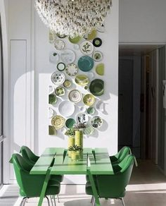 Pantone color of the year, emerald interior design, szmaragdowe wnętrza, emerald kitchen, zielona kuchnia