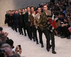 Burberry channels arty dandy at menswear show | Lifestyle | GMA News Online