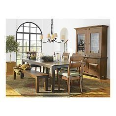 Crate and Barrel Basque Honey Side Chair in Dining Chairs ($199)