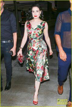 Dita Von Teese Watches Adele Perform Live in Concert | dita von teese watches…