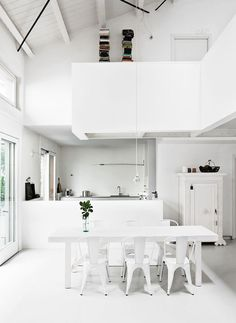 Visit   A white abode in Milan - French By Design