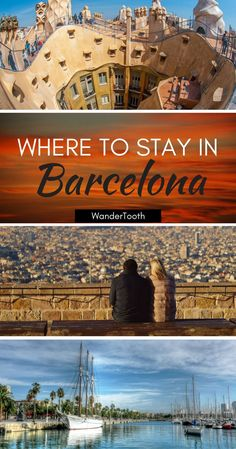 Where to stay in Barcelona, Spain: all you need to know about Barcelona's best neighborhoods. Tips and recommendations for places to stay in Barcelona. Barcelona Travel Tips Barcelona city guide - WanderTooth Europe Travel Tips, European Travel, Travel Destinations, Travelling Europe, Travel Usa, Barcelona Spain Travel, Barcelona City, Barcelona Where To Stay, Cool Places To Visit