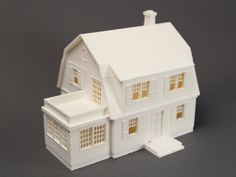 Miniature House 1/64 scale - The Puritan by MakerBot - Thingiverse