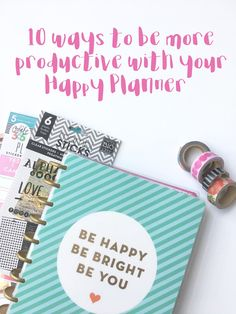 Happy Planner productivity                                                                                                                                                                                 More