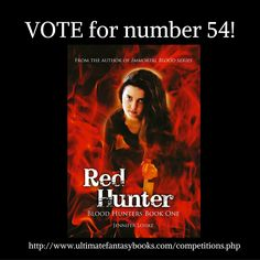 RED HUNTER has been nominated to Best Book Cover Contest 2016 by Ultimate Fantasy Books.Please, vote for it. One click and it's done. Every vote counts! http://www.ultimatefantasybooks.com/competitions.php