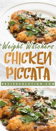 4 servings Ingredients 1 pound chicken scaloppini (about 4 ounces each) Kosher salt and freshly ground black pepper 1 tablespoon plus 1 teaspoon all-purpose flour, divided 3 teaspoons extra-virgin olive … Ww Recipes, Chicken Recipes, Healthy Recipes, Chicken Meals, Recipes Dinner, Healthy Meals, Recipe Chicken, Healthy Chicken, Ina Garten